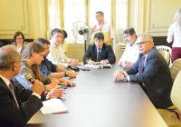 Marcelino D'Almeida participa de reunião que fiscalizou saneamento na Zona Oeste com representantes da Rio Águas e da Foz Águas 5