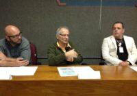 Vice-prefeito (c) visita o Distrito Industrial de Santa Cruz