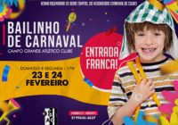 Matinês do Campusca volta e resgata o glamour do Carnaval de clubes