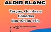 Lei Aldir Blanc: atendimento na Zona Oeste