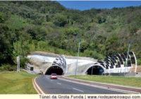 Liberado o tráfego de Caminhões no Túnel da Grota Funda em Guaratiba