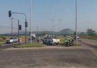 Guarda Municipal fez operação para coibir acesso indevido na pista exclusiva do BRT em Guaratiba