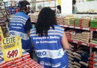 Procon-RJ faz operação em supermercados de Campo Grande e Realengo