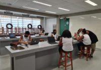 Escola municipal de Campo Grande – Barbante – inaugura Espaço de Integração Digital