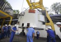 Cedae inicia instalação de motor na Elevatória do Lameirão