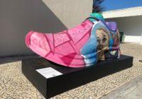 Centro Esportivo em Campo Grande e Vila Olímpica em Santa Cruz receberam tênis gigantes da Maratona com Arte
