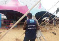 Circo irregular foi desmontado em Sepetiba