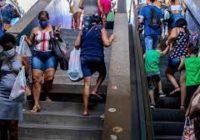 Escada Rolante no Túnel de Campo Grande está parada há quase 1 ano