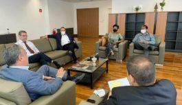 Reitoria da UEZO discutiu o Campus em reunião com autoridades do Estado.