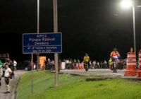 Ciclistas ganham primeira área de proteção noturna da cidade em Deodoro