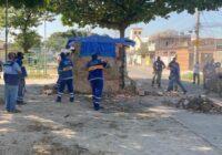Prefeitura faz operações de notificação e demolição em ruas de Bangu