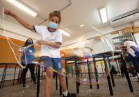 Escola Japão, em Santa Cruz, recebe programa educacional para estimular o desenvolvimento